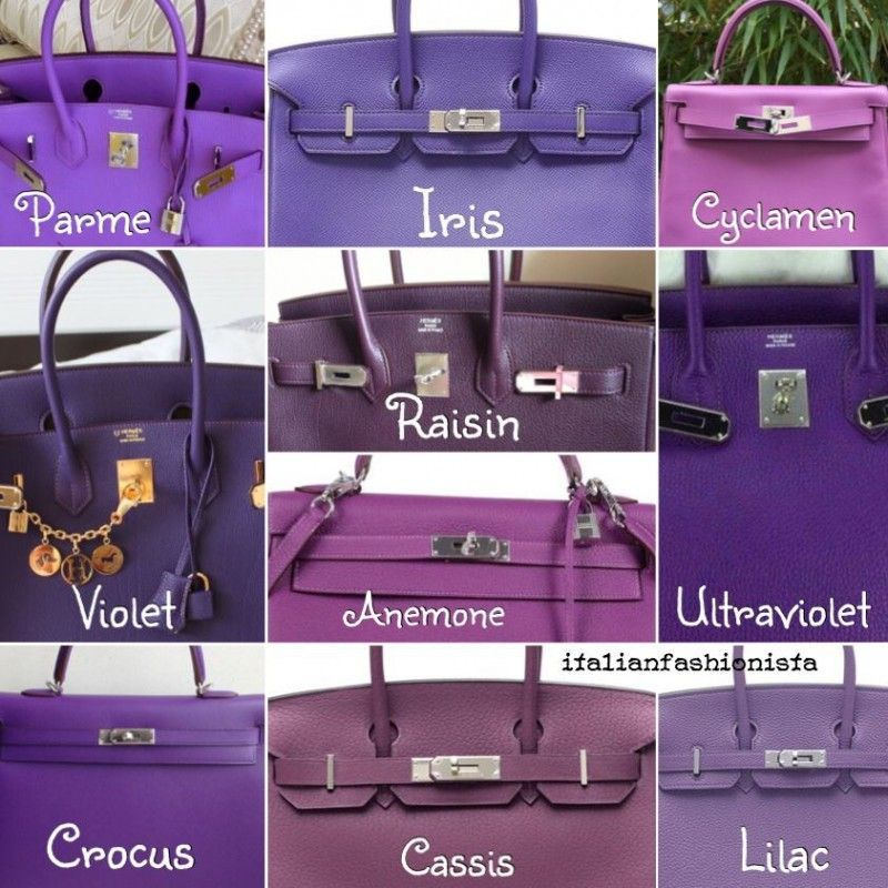 Shade Of Purple whats your favorite hermes shade of purple? | pursebop