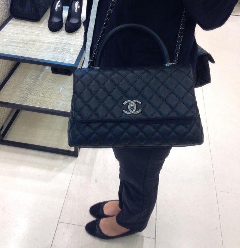 Chanel Coco Handle Bag Yes Or No Pursebop