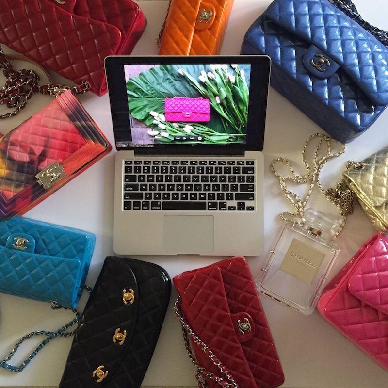 Imagine Ordering a Chanel Jumbo Online