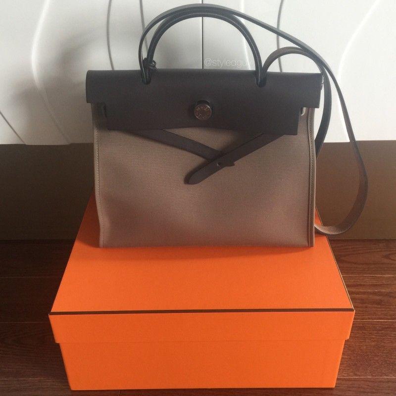 Hermes Herbag Zip: Kelly Bag Twin Sister