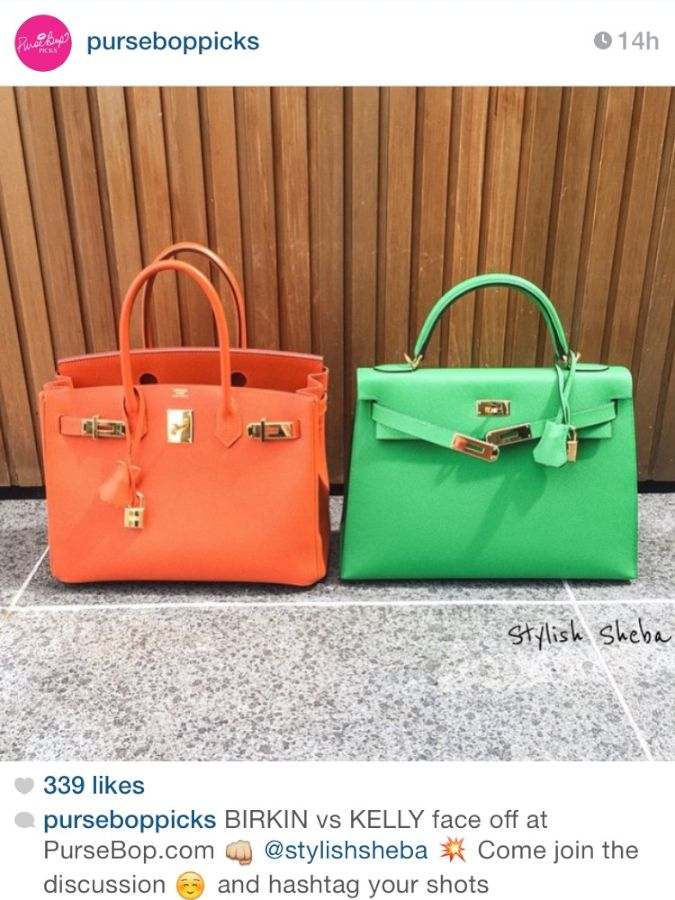 purses hermes - BIRKIN vs Kelly FaceOff - PurseBop
