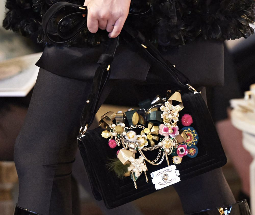 grey birkin bag - Chanel Metiers d' Art Fall 2015 Bags - PurseBop