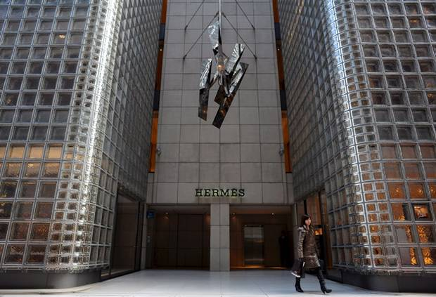 Hermes Store in Tokyo, Japan - Ginza District