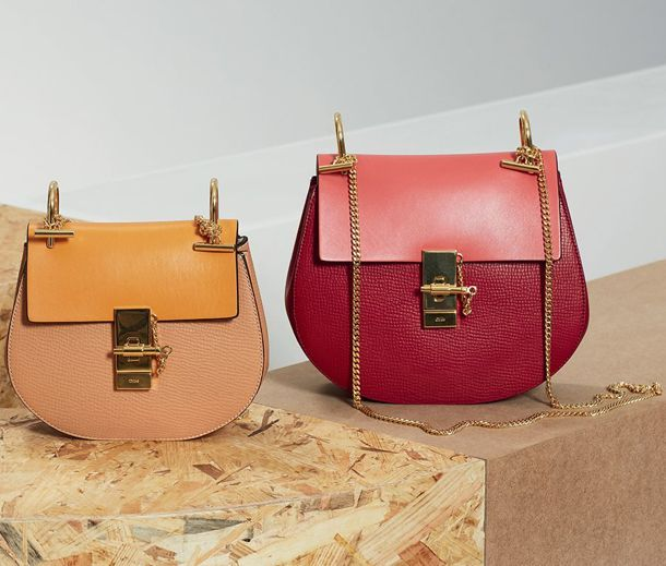 110101a03 Chloé's most iconic bags include the Paddington satchel and the Marcie  crossbody saddlebag. The Drew Bag was first released in the Fall/Winter  2014 ...