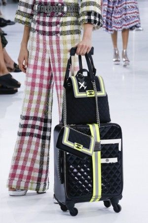 Board in Style at Chanel s Swanky Airport  Chanel Spring Summer 2016 Bags 8d6597f21abf5