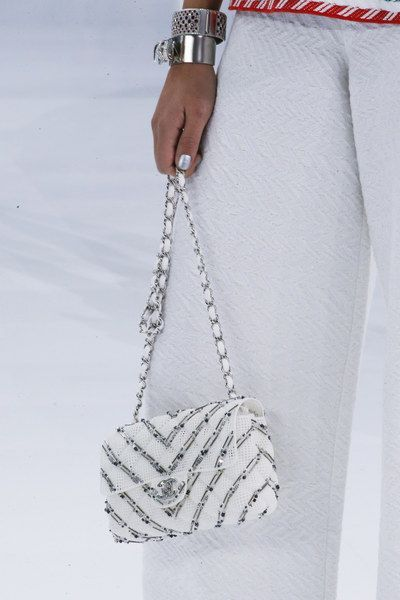 0f744588b2 Chanel-White-Embellished-Classic-Flap-Bag-Spring-2016