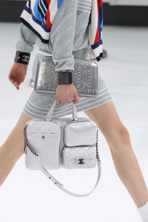 a57986a851 Props to Karl Lagerfeld. I was transported by the Chanel Spring Summer 2016  show…to a bygone era where air travel was glamorous and shoes and handbags  ...