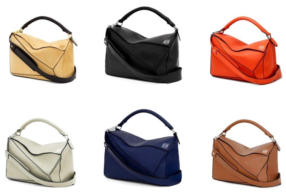 Puzzle Small Bag Tan - LOEWE