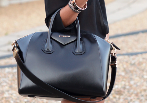 celebrities wearing the givenchy antigona bag. Black Bedroom Furniture Sets. Home Design Ideas