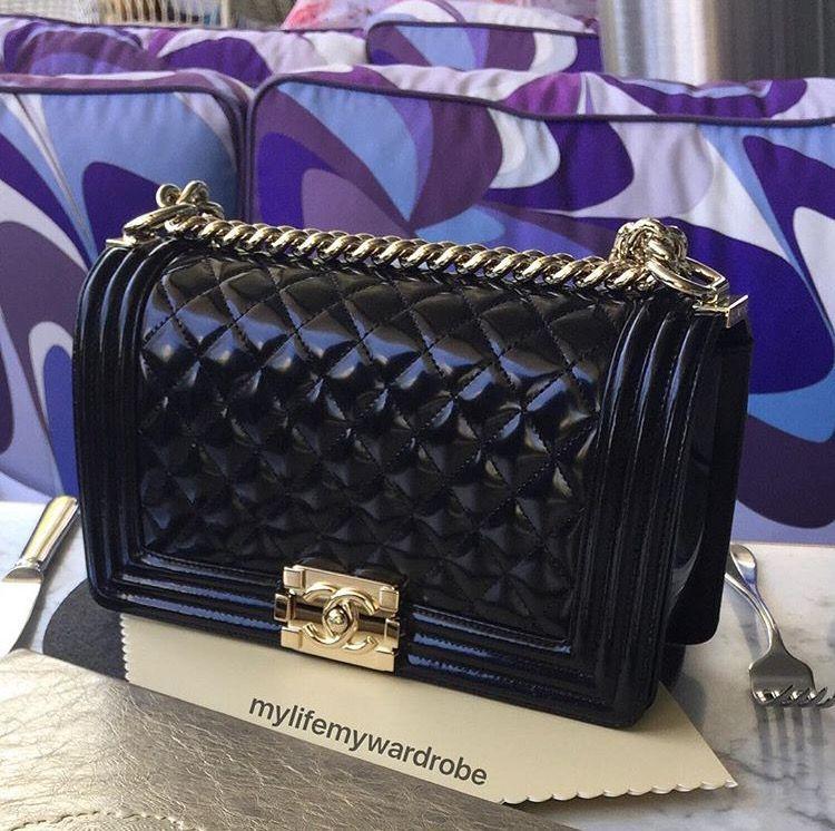 Chanel Spring Patent 2016 Boy Bags - PurseBop 0b209e30b5ec5
