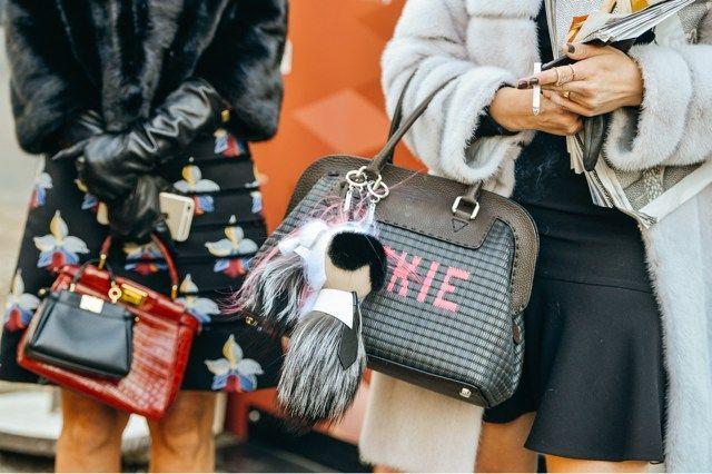 fashion-week-street-style-fendi-karlito-fur-bag-charm