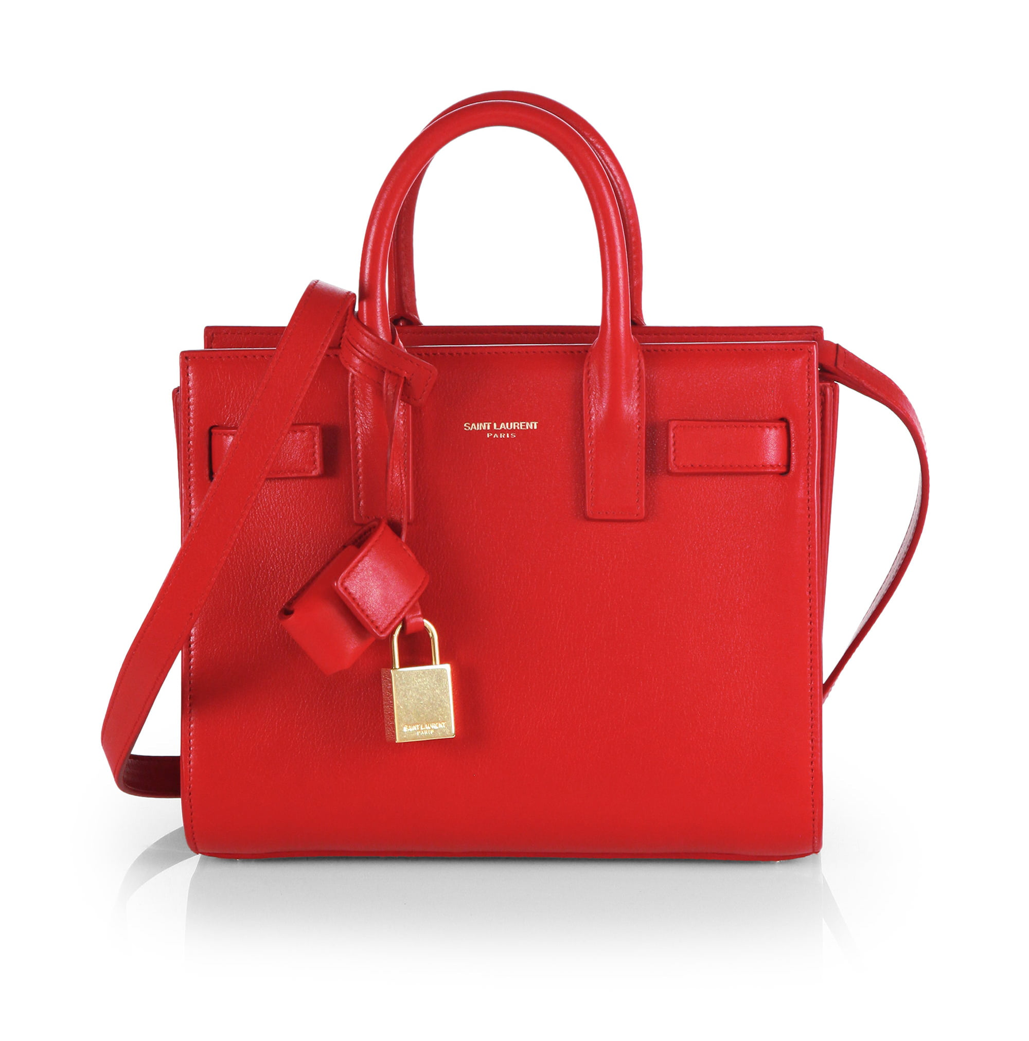 Sac Laurent 0 De Product Jour Tote Mini Red 21296118 Saint 1 wtq4T6q