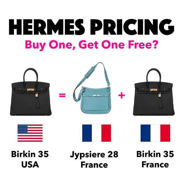 06f485eb358 Hermes Pricing  Buy One Bag, Get one Free