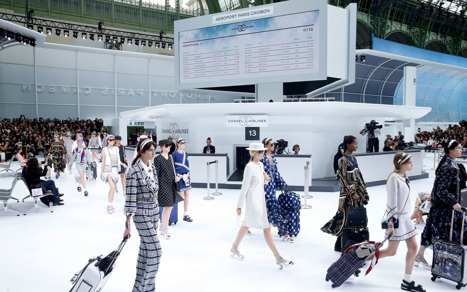 Read  Board in Style at Chanel s Swanky Airport  Chanel Spring Summer 2016  Bags a9e55074e5