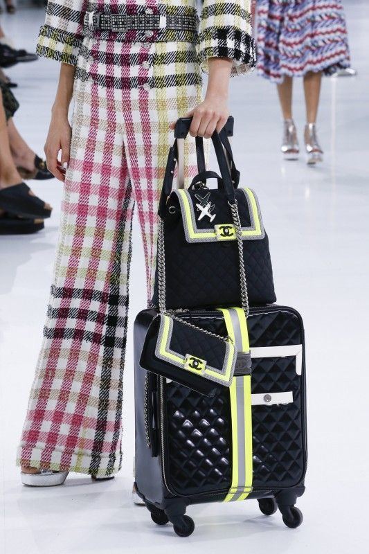 Read  Board in Style at Chanel s Swanky Airport  Chanel Spring Summer 2016  Bags b714dfc7d635c