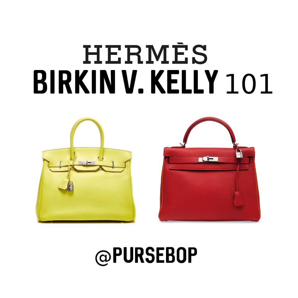Hermes Birkin vs. Kelly 101