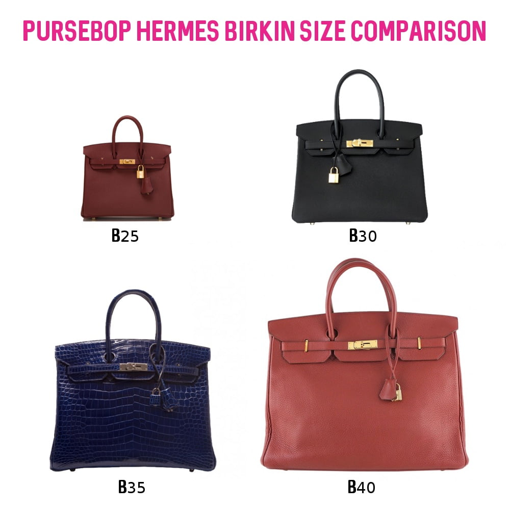 "81a4424776 View more comparison pictures in PurseBop s ""From Mini to More  Hermes  Birkin Sizes"" reference guide"