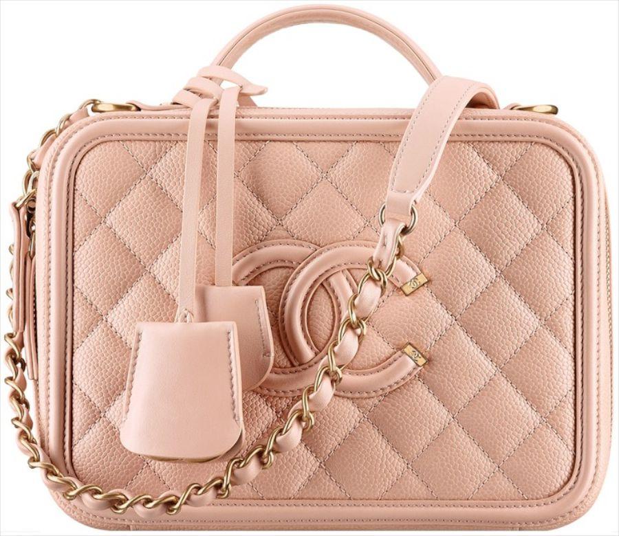 edbeef38fbc Chanel Vanity Case Takes Us Back In Time - PurseBop