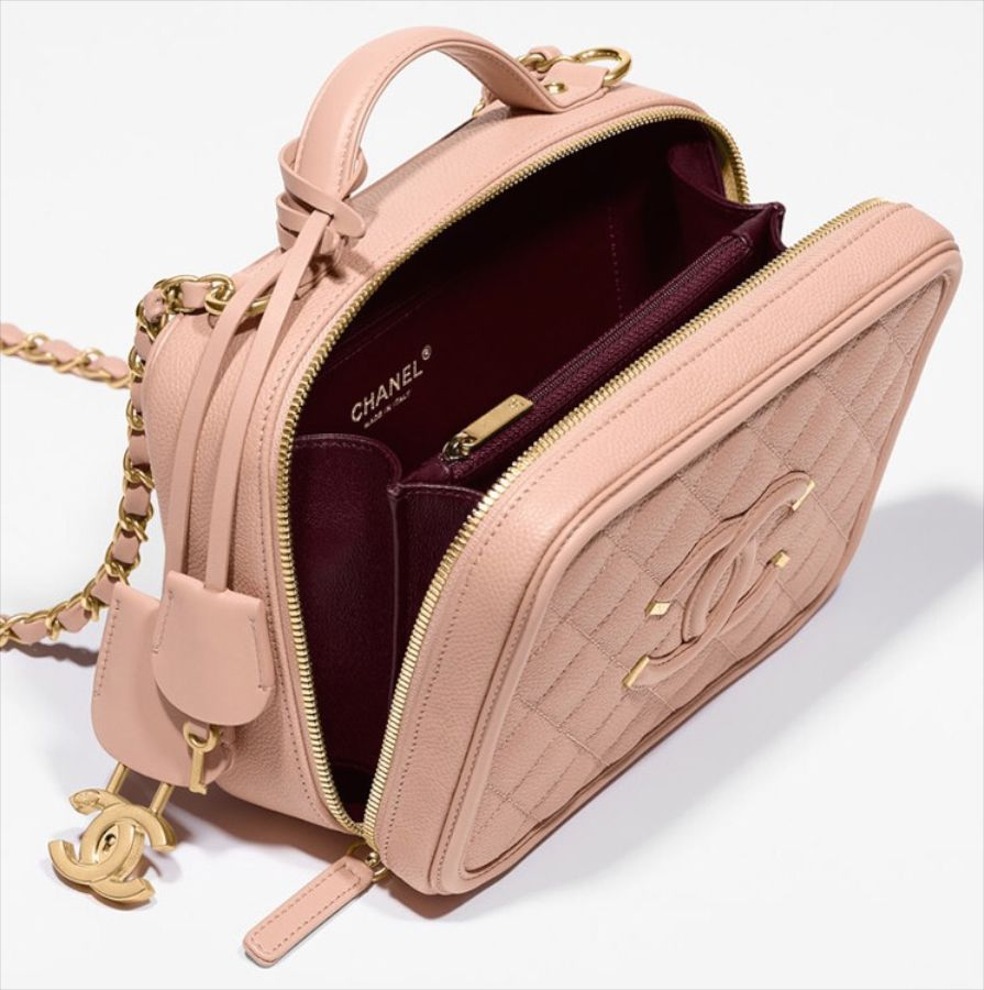 b1cf1d9d7fd7 Chanel Vanity Case Takes Us Back In Time - PurseBop