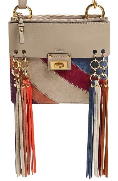 f6be5056ba Chloe Small Jane Suede Fringe Patchwork Leather Crossbody Bag – $1,490 via  Nordstorm