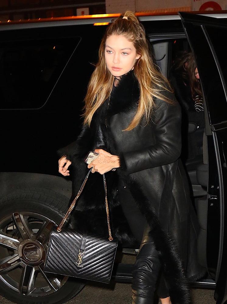 10 celebrities rocking fabulous little black bags