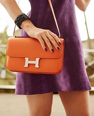birkin style leather bag - Hermes 101: Hermes Constance Bag - PurseBop