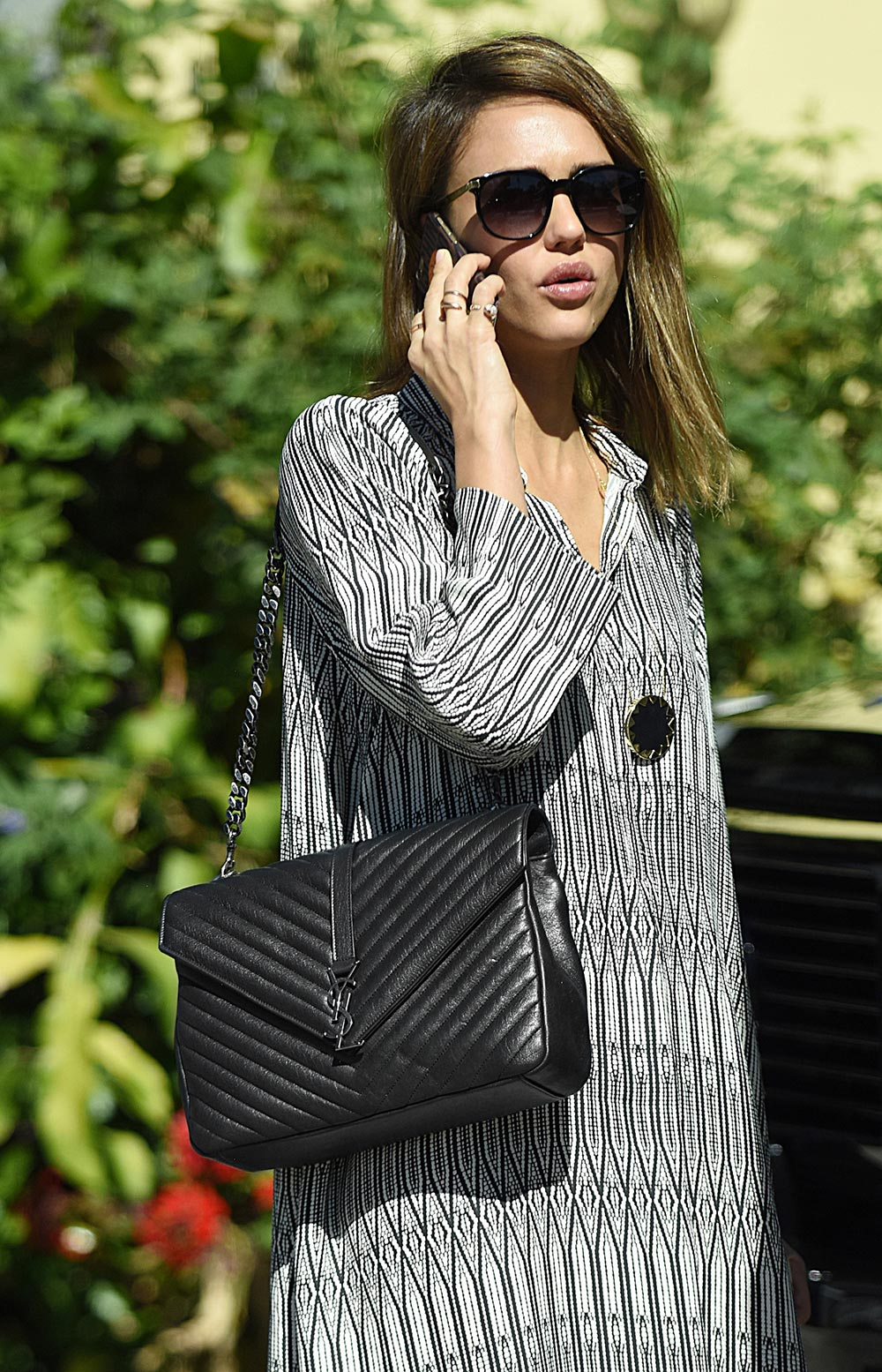 Celebrities Carrying Saint Laurent Bags - pursebop.com