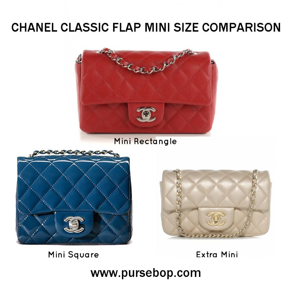 "c3807c40b7b Chanel Mini Family. There are three diminutive ""mini"" sizes in the Chanel Classic  Flap family. The mini bag trend has ..."