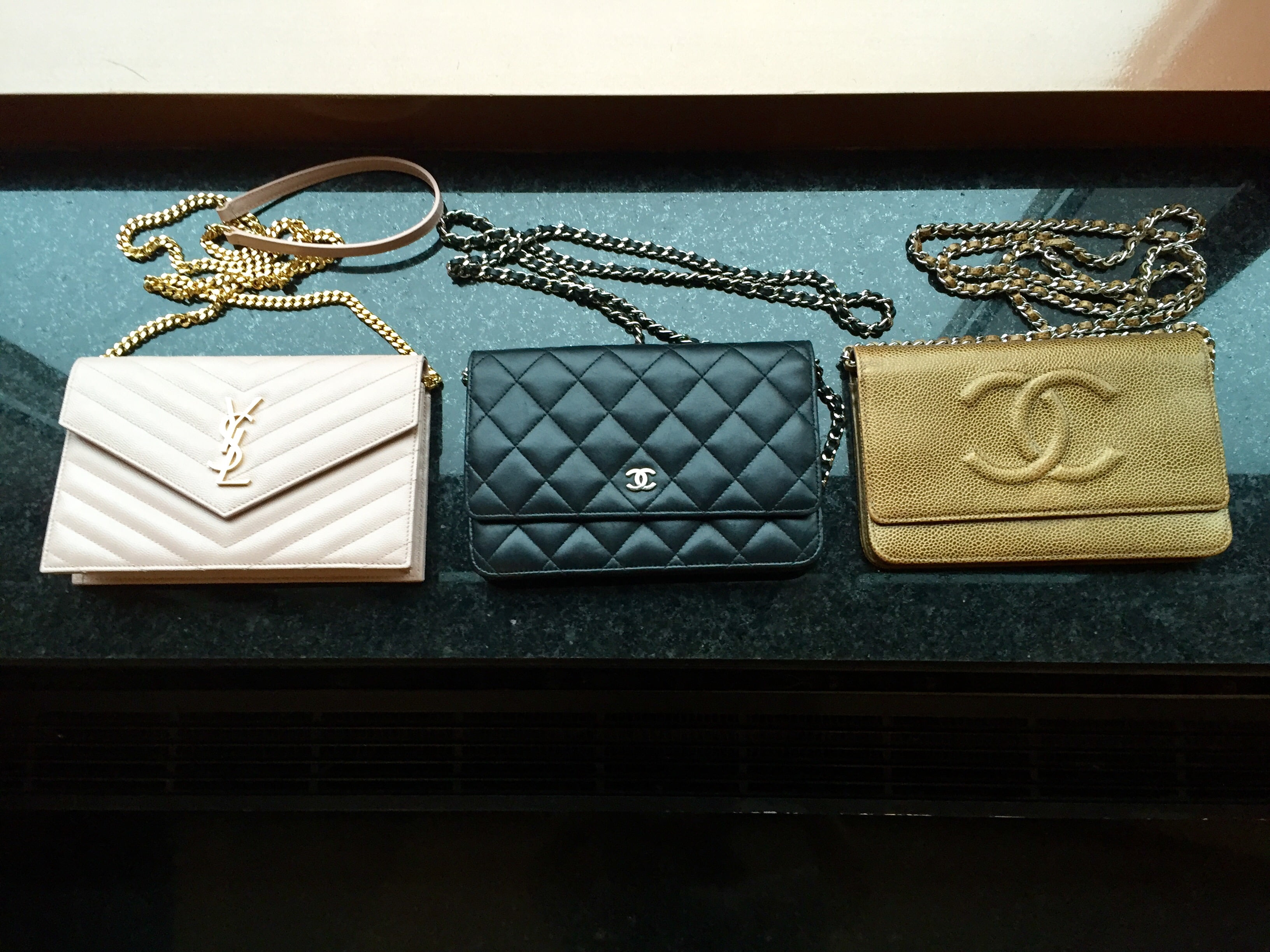 b432a48948c1 The Wallet on Chain (or simply WOC) is one of the most loved accessories in  the handbag world because it is so incredibly useful and versatile. Chanel  and ...