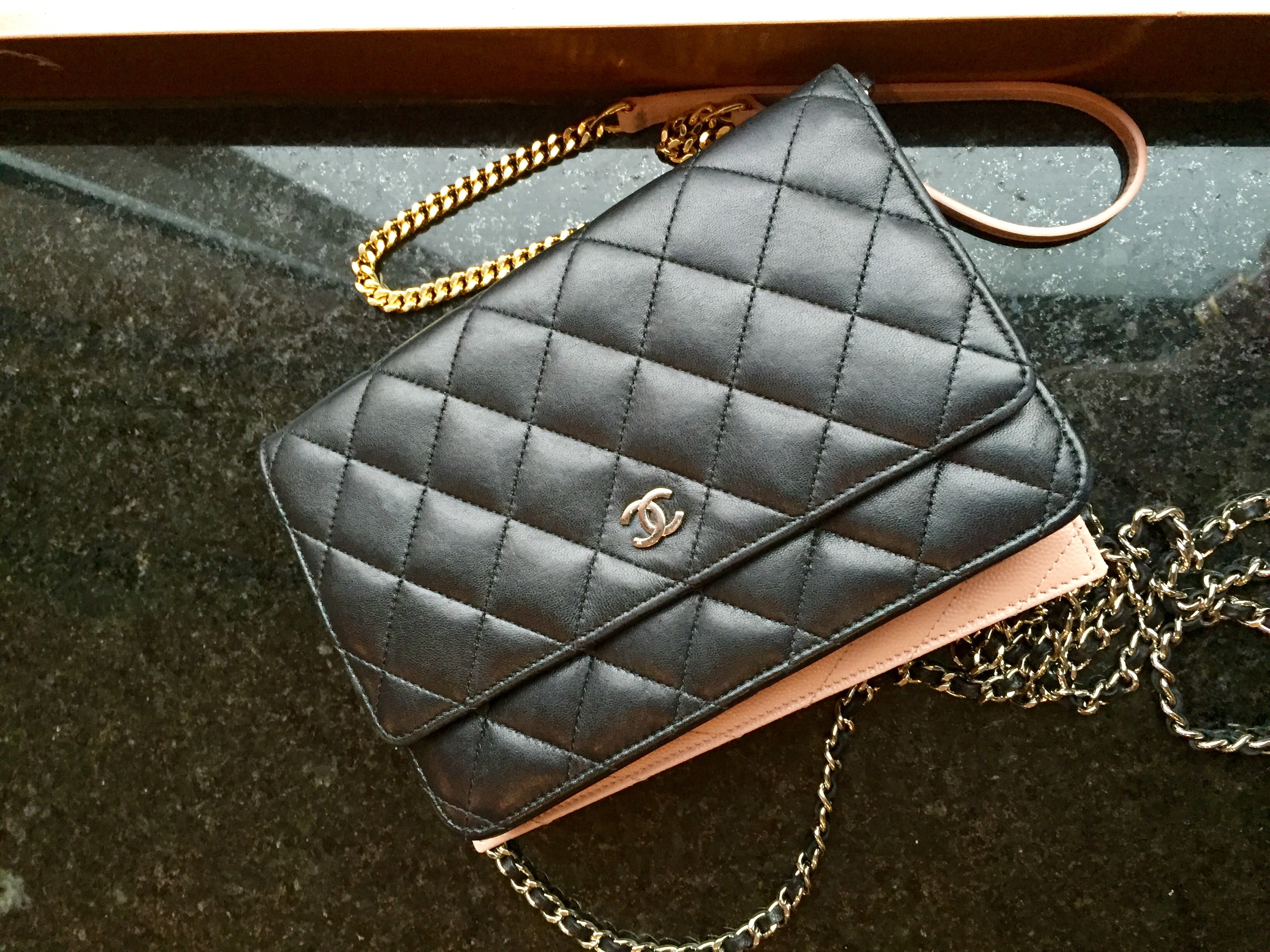 56150773b16 Chanel vs. YSL Wallet on Chain Comparison (WOC) - PurseBop