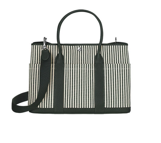c361bfe49ea7 Medium Hermes Garden Party Tote with Detachable Strap and Outside Pockets