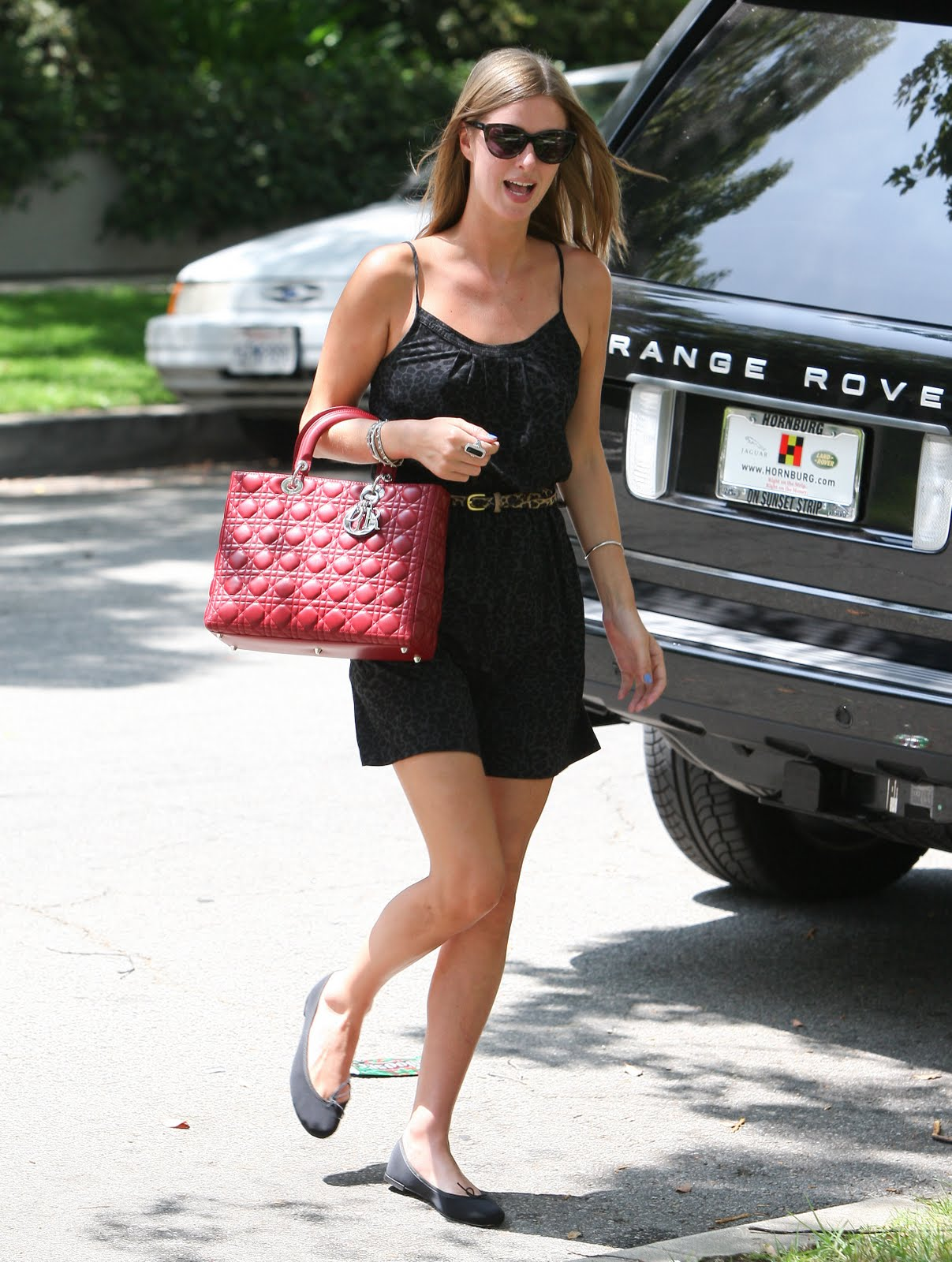 nicky hilton red dior bag 2