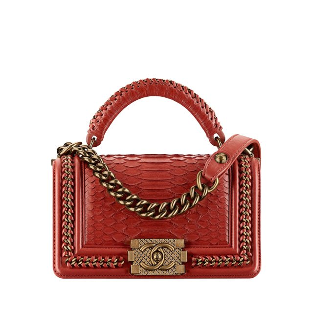 0195bd7c918d YAY or NAY?: Chanel Boy Bag with Handle - PurseBop