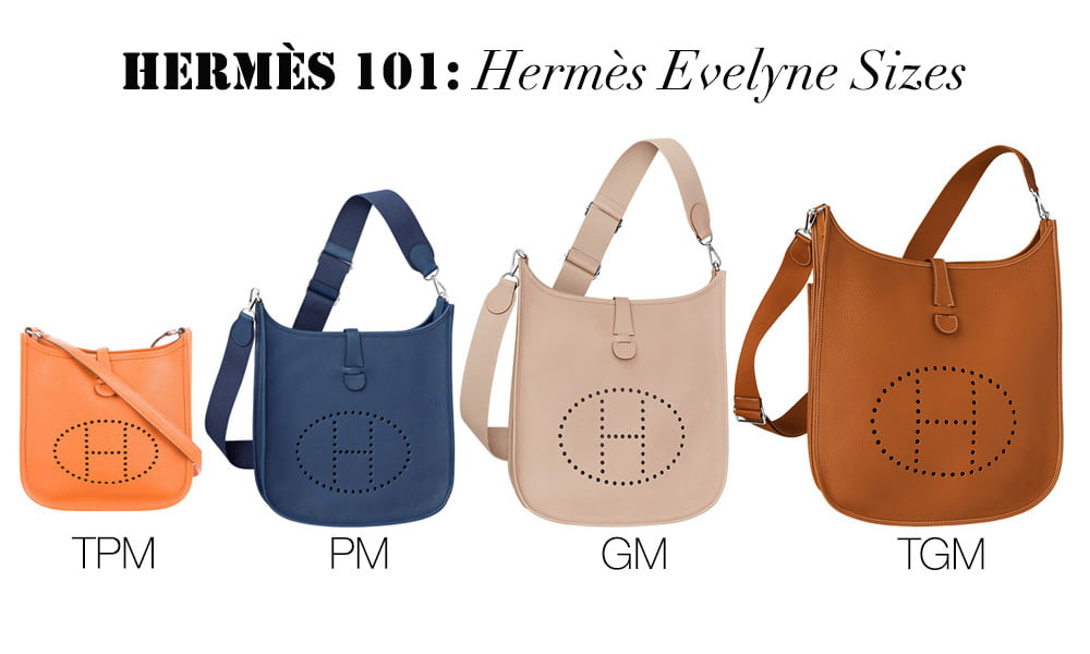 Hermes 101  Hermes Evelyne Bag - PurseBop 2df8784de30