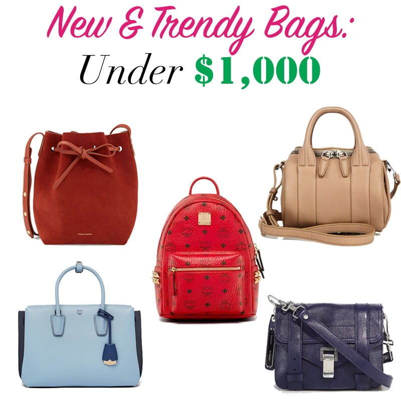 New & Trendy Bags UNDER $1,000 - PurseBop