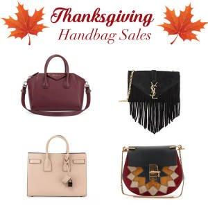 thanksgiving handbag sales
