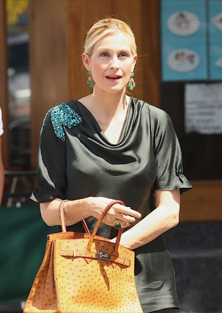 Kelly rutherford hermes birkin ostrich 2