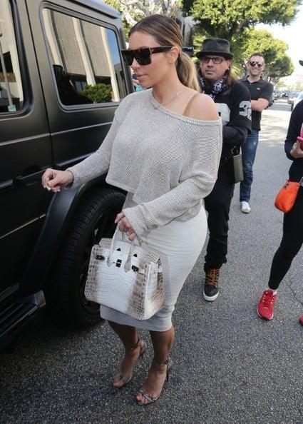 Kim+Kardashian+Tote+Bags+Exotic+Skin+Tote+7Ff3L-03o4El