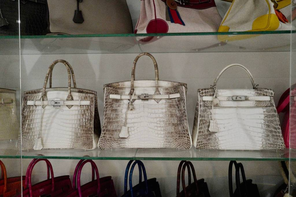 This woman owns one of the largest Hermes bag collections in the ... fdd3b424c0