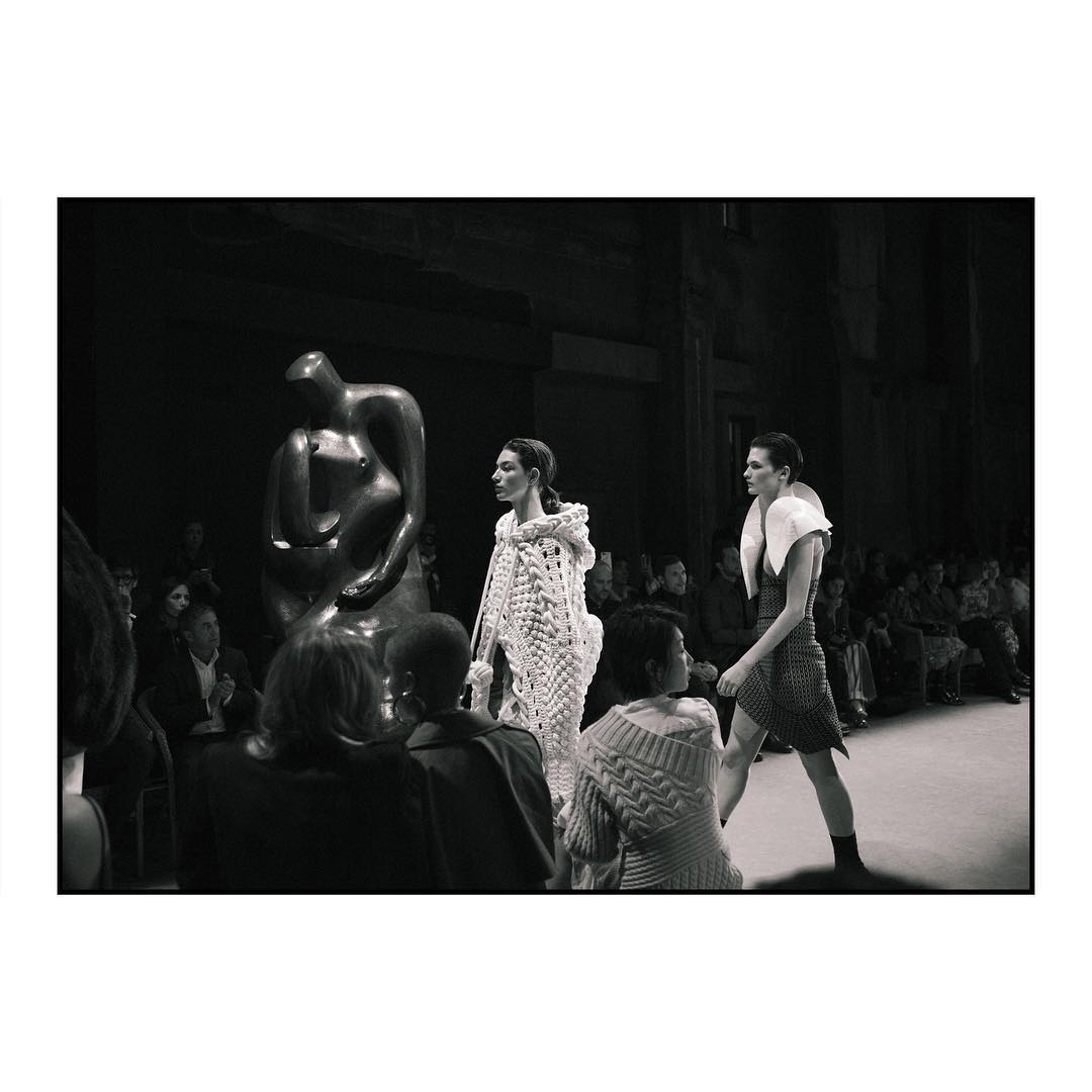 Burberry's February show in London. Photo courtesy: @burberry