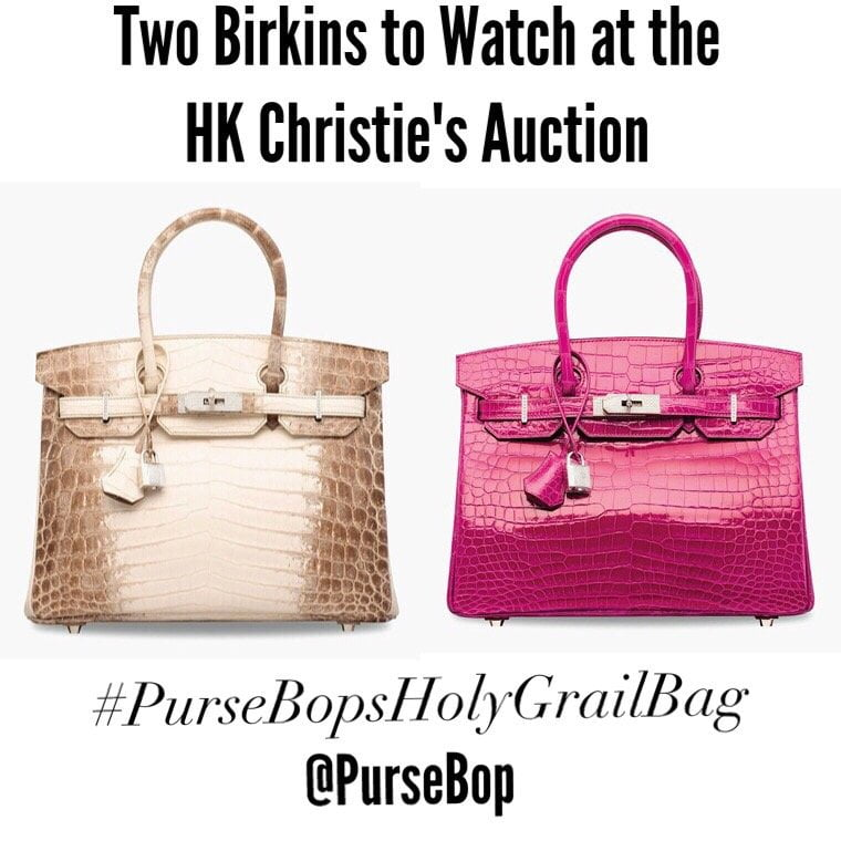 Most Expensive Birkin Ever Sold At Christies