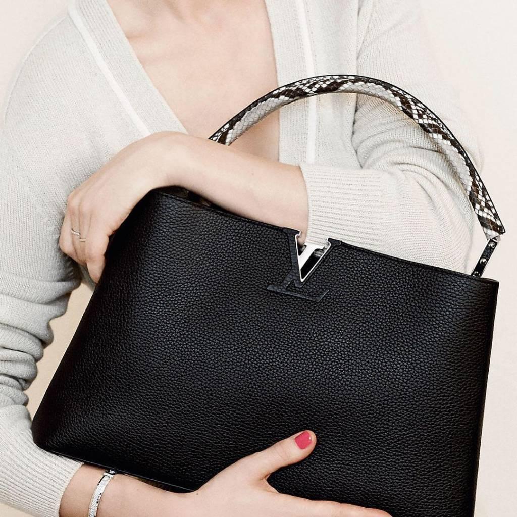 Louis Vuitton Capucines. @louisvuitton