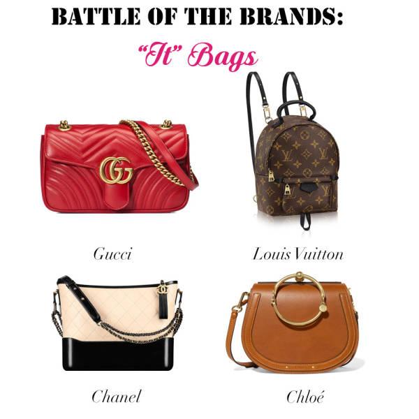 Battle of the Brands It Bag