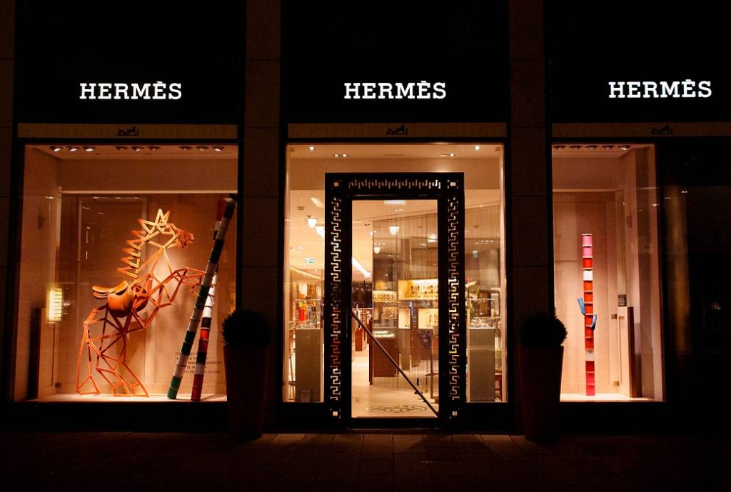 Hermès in Hamburg, 2014. Photo courtesy: Sarah Illenberger