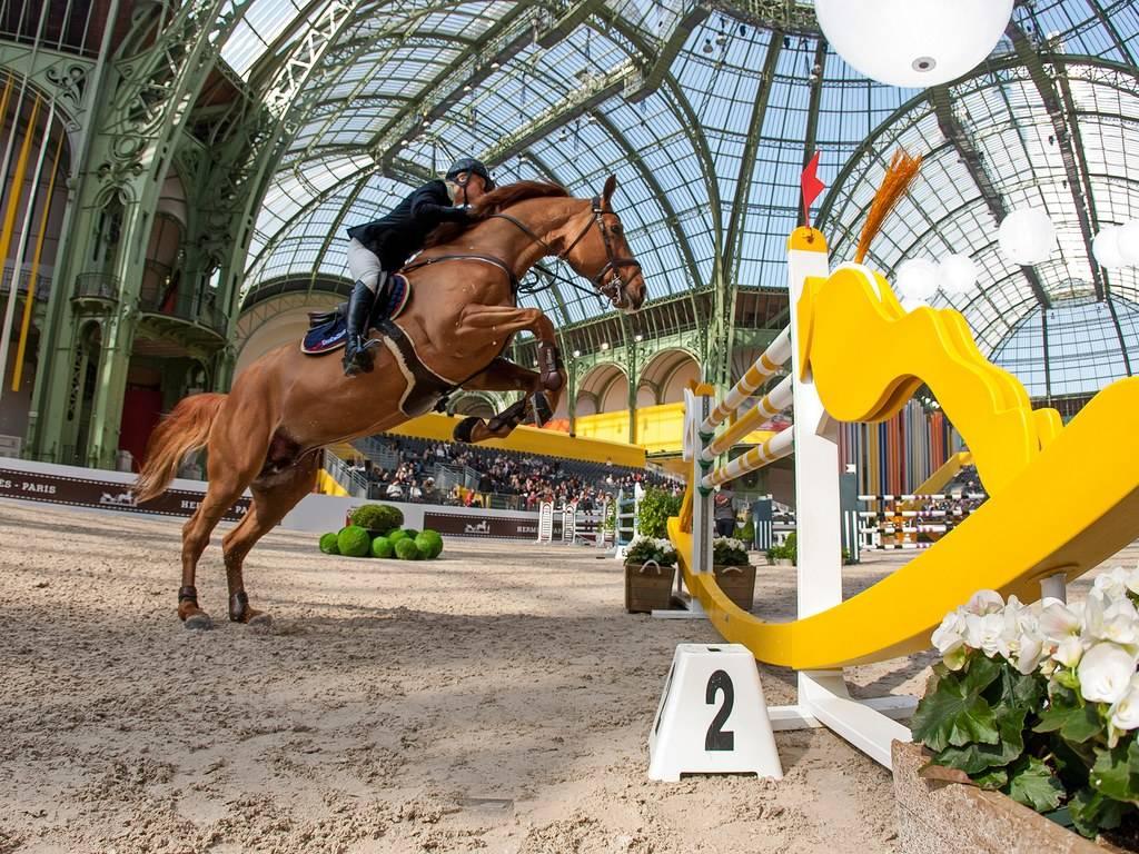 Saut Hermès at the Grand Palais. Photo courtesy: Hermès // Condé Nast Traveler