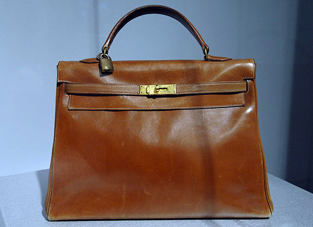 The original Hermès Kelly. Photo courtesy: REX FEATURES