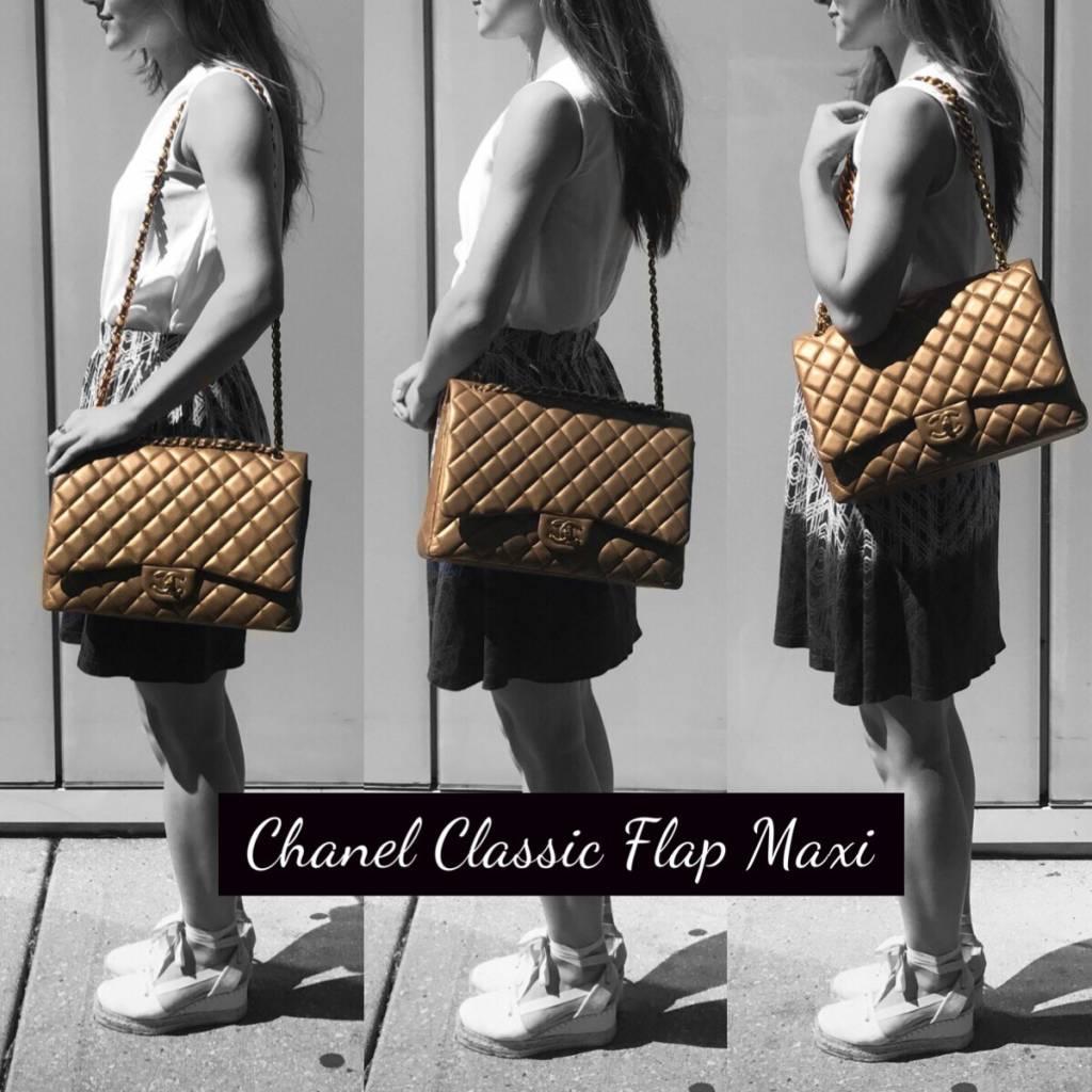 595a6fc6878d8 Chanel Classic Flap Size Comparison - PurseBop