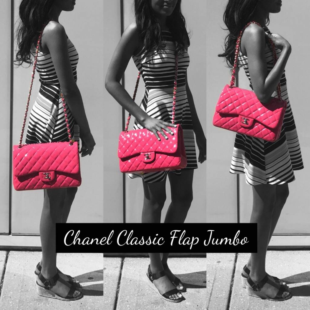 eda8b0591bfe Chanel Classic Flap Jumbo. Model 1. Processed with MOLDIV