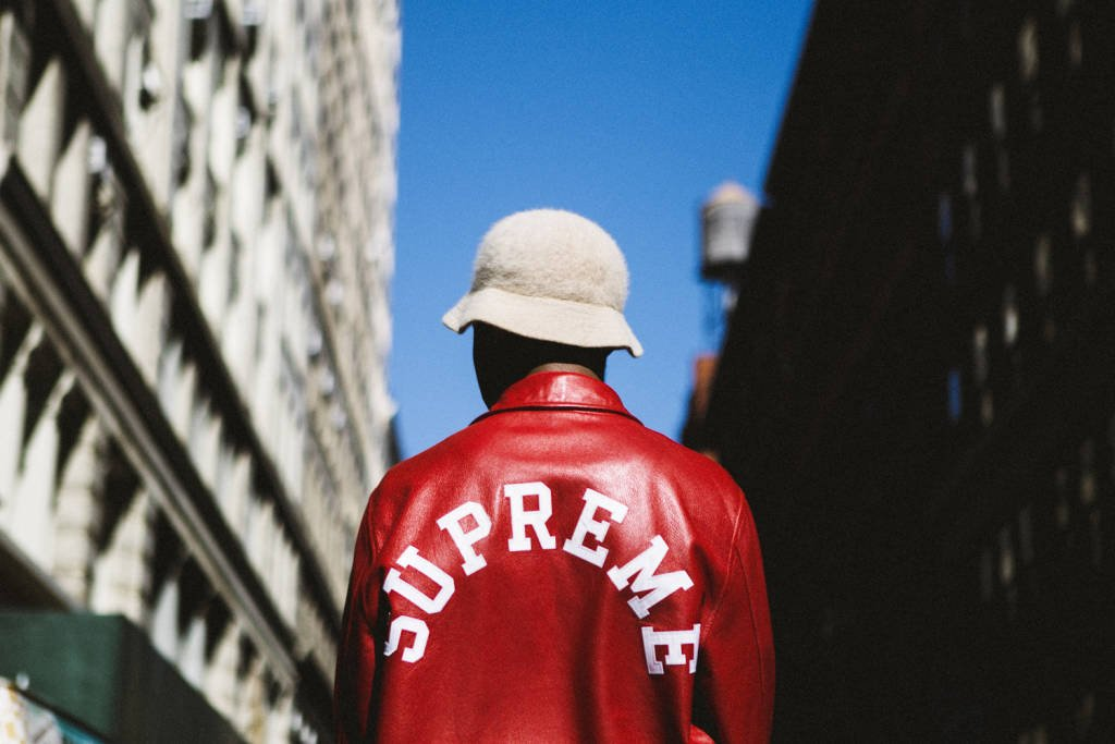 Jacket from the Supreme Spring/Summer 2016 collection. Photo courtesy: Highsnobiety
