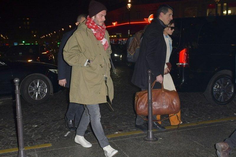 David Beckham. Photo courtesy: TEAMB / Splash News